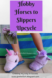 Soft Toy to Slippers Upcycle