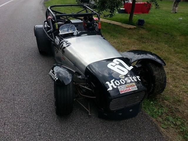 Original Lotus Super 7 to Race at Groebeck Grand Prix