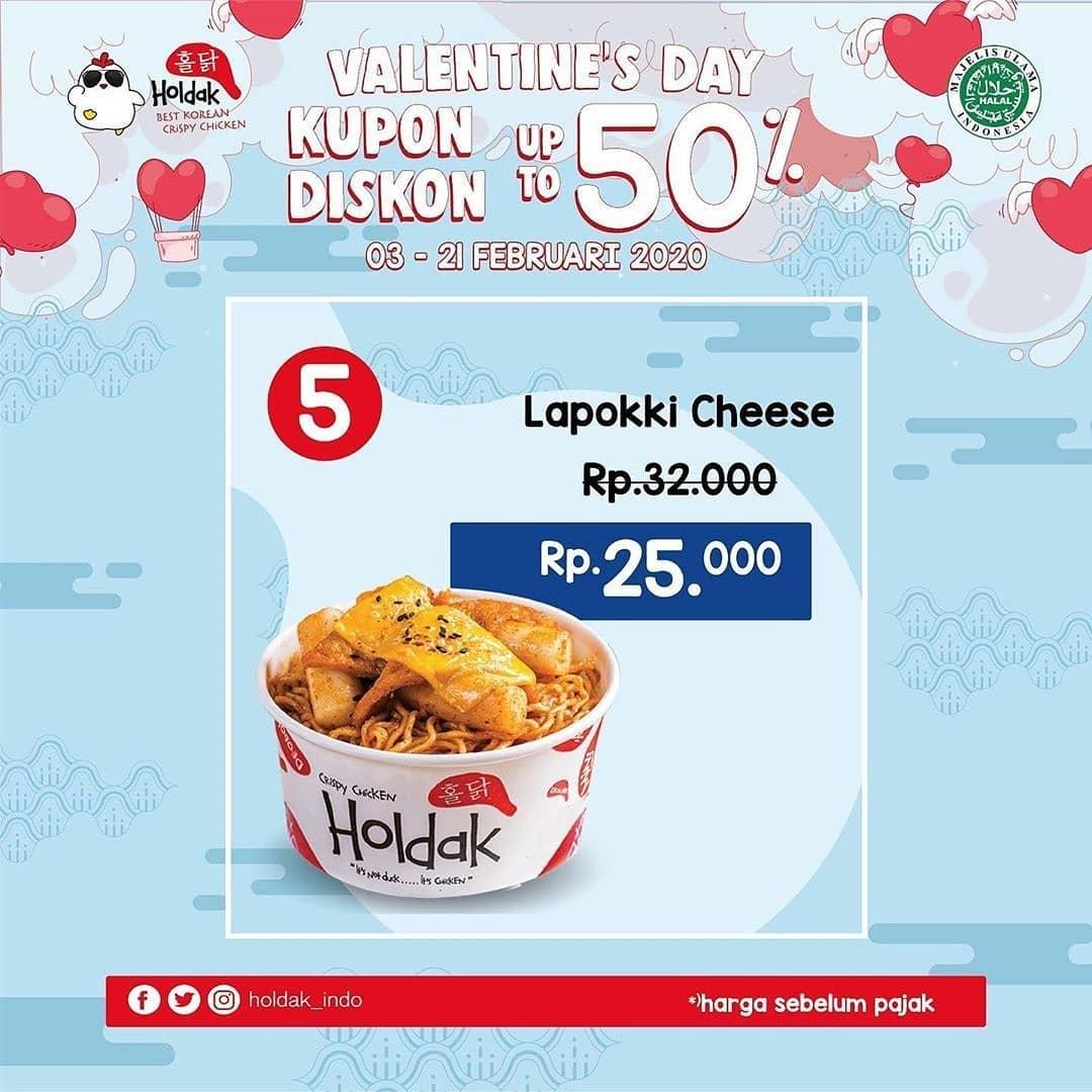 6 Pilihan Promo HOLDAK Kupon Diskon Valentine's Days