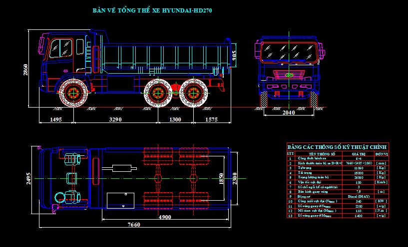 hệ thống phanh xe huyndai hd 720