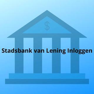 Stadsbank van Lening Inloggen