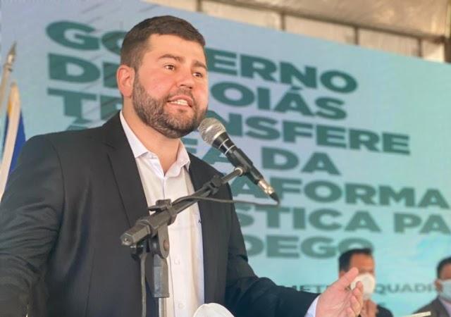Anápolis: Conquista do deputado Amilton, ampliação do DAIA é sancionada por Ronaldo Caiado