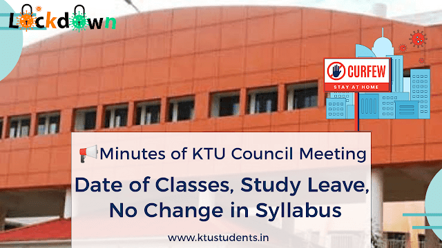 ktu academic meeting related after covid-19 virus lock down period