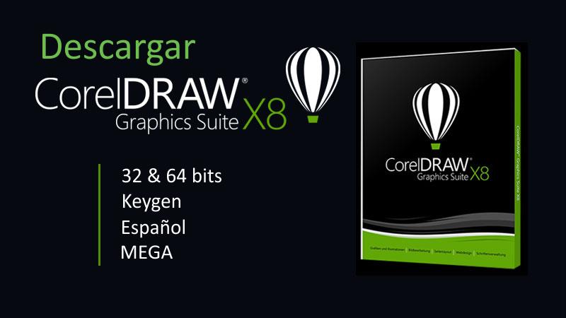 descargar corel draw x8 mega