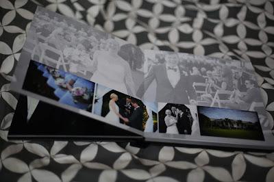 wedding album photograph for impressions photography