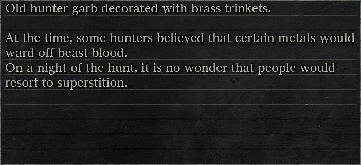Decorative Old Hunter Garb In Description Print