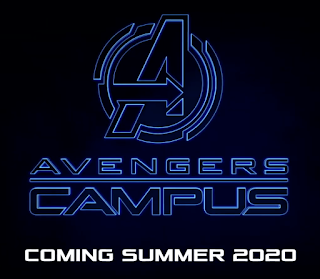 Avengers Campus Logo Coming Summer 2020 Disney California Adventure Disneyland