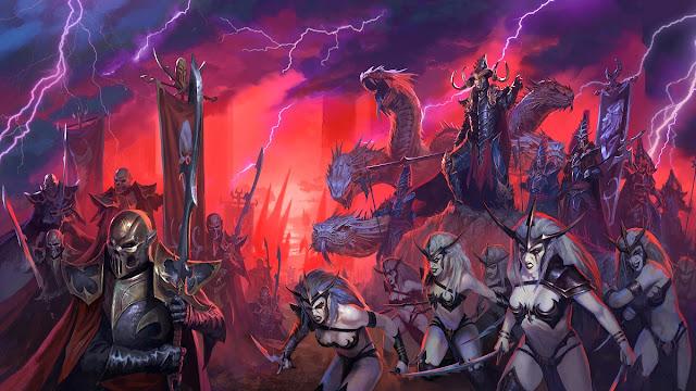 Descubre la maquinaria bélica de los Elfos Oscuros en Total War Warhammer II