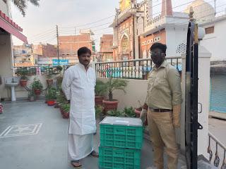 जौनपुर : एमएलसी बृजेश सिंह प्रिंसू ने #WebMandi से मंगायी सब्जियां, लोगों से भी की इस सुविधा का लाभ उठाने की अपील