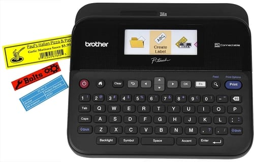 Review Brother P-touch PTD600VP Label Maker