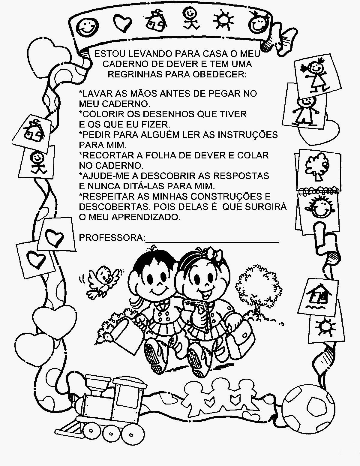 Pequenos Grandes Pensantes Capas De Caderno Para Educacao Infantil