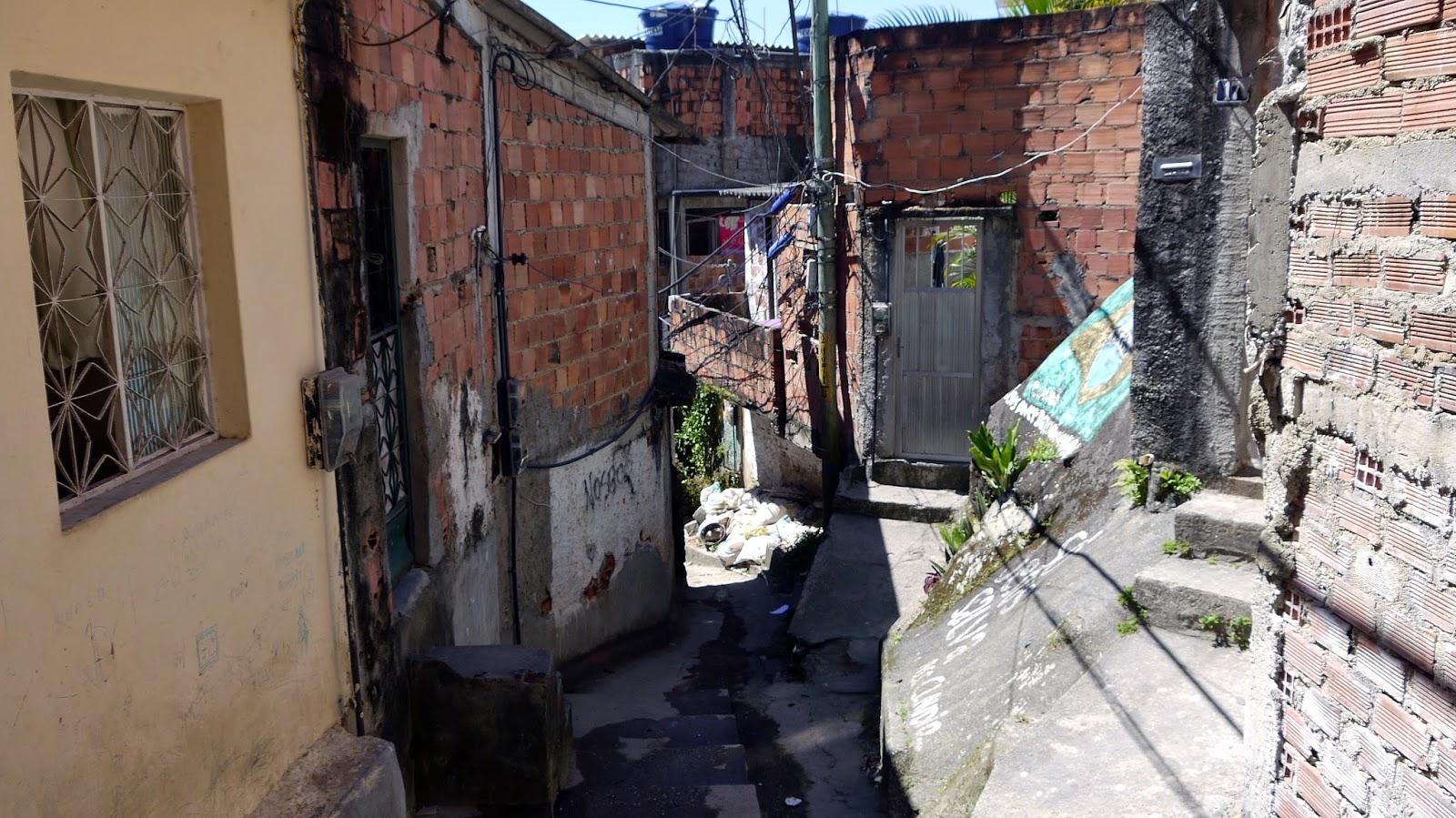 Slum in Rio de Janeiro