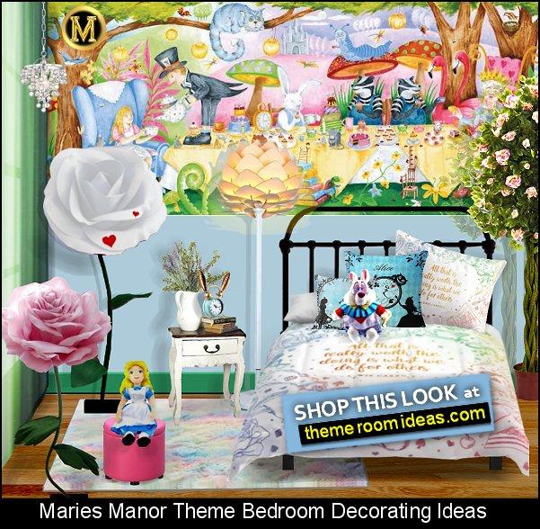 Tea Party for Children Alice in Wonderland  bedroom ideas  Rabbit Ear alarm clock