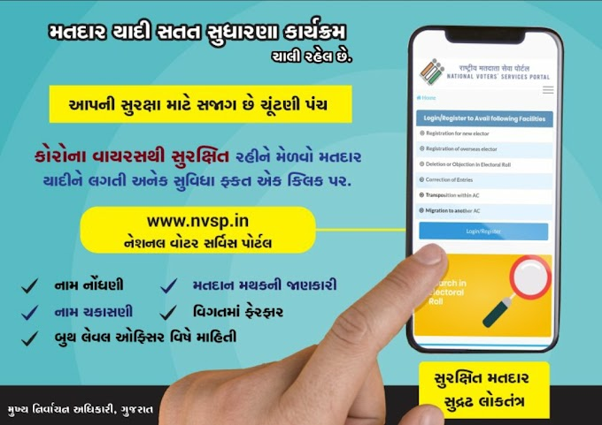 Voter ID Correction Online @nvsp.in