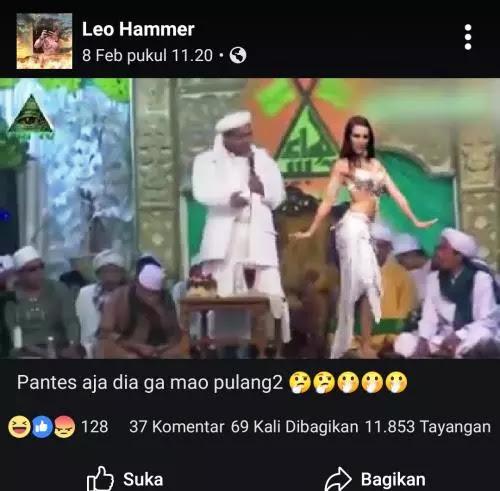 Video Habib Rizieq Joget dengan Penari Perut Ternyata HOAX, Ini Fakta yang Sebenarnya