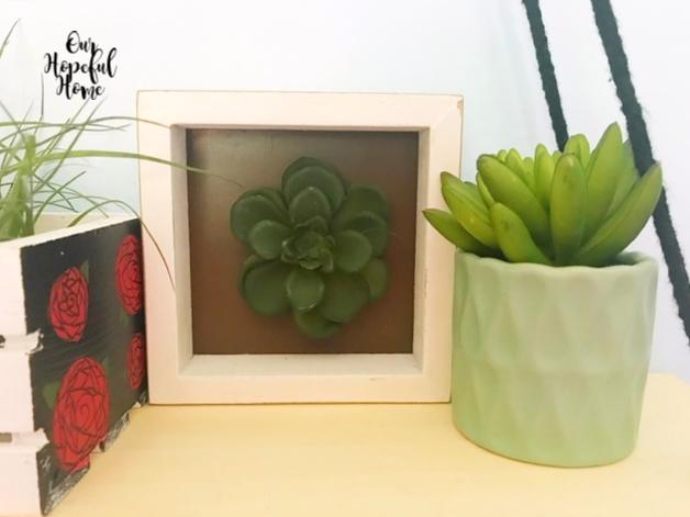 faux cacti succulents planter