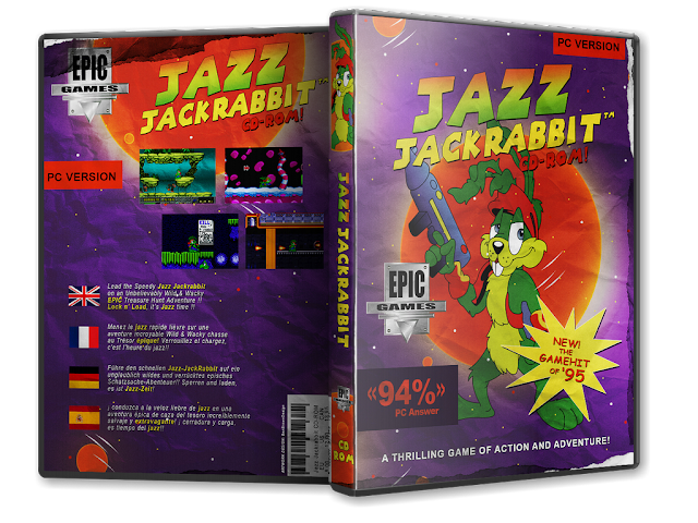 Capa Jazz Jackrabbit PC