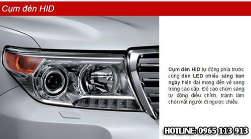 Toyota Land Cruiser đèn xe