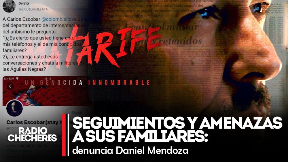 Creador de serie #Matarife denuncia seguimientos y amenazas a sus familiares