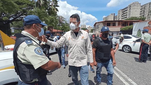 ALCALDE DE IRIBARREN EXIGE DISCIPLINA HACIA LA CONSTITUCIÓN A POLICÍAS MUNICIPALES