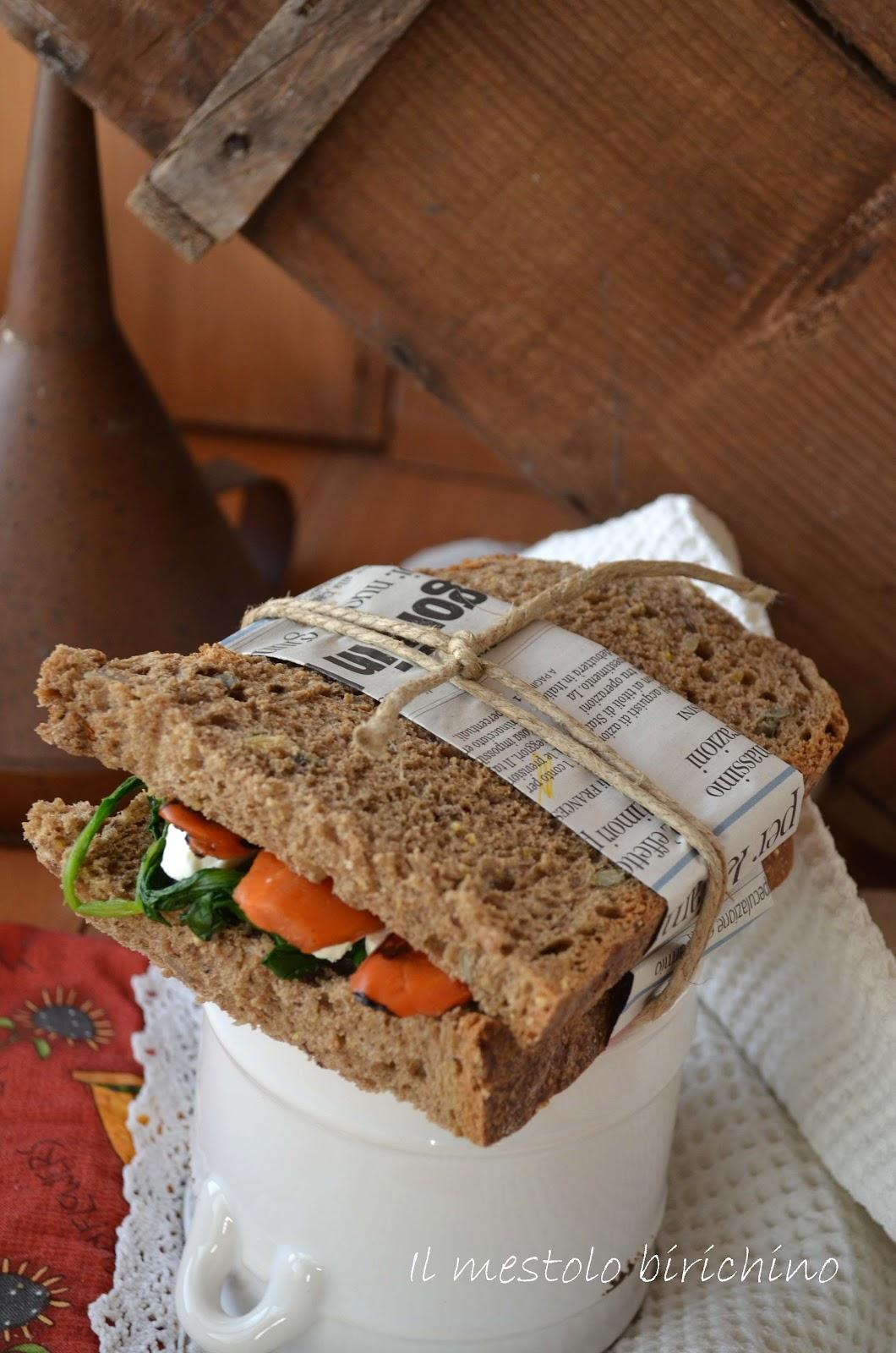 il mestolo birichino: panino multicerali per un pranzo sano ... - Pranzi Sani E Leggeri
