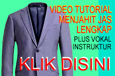 Video Tutorial Cara Jahit Jas
