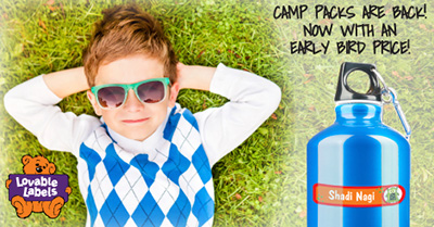 Lovable Labels Ultimate Camp Pack ~ #Review #Giveaway
