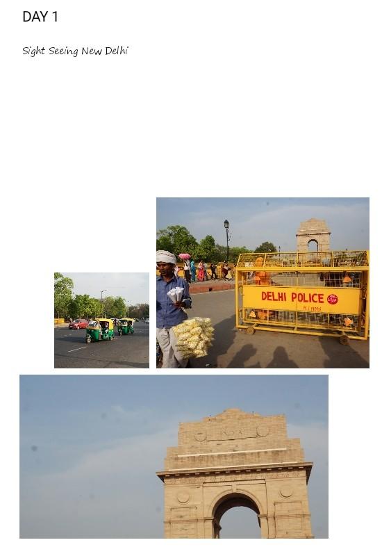 itinerary 5 hari di india golden triangle