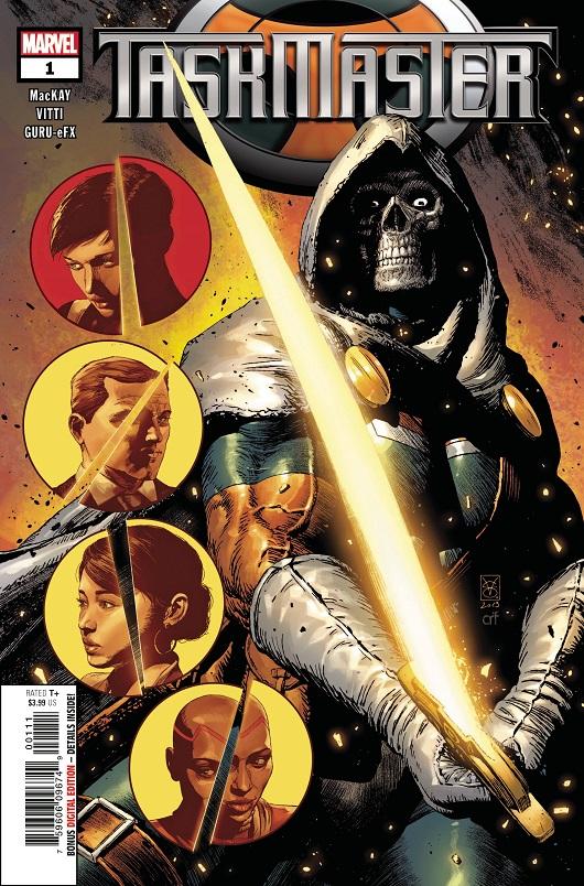 Cover of Taskmaster #1