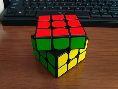 plus two rubik's cube solved