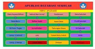 Download Aplikasi Database Keperluan Sekolah Otomatis File Terbaru