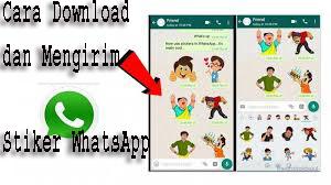 Cara Downdaload dan Mengirim Stiker WhatsApp 1
