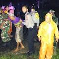 Sungai Klawing Meluap, Tim Gabungan Bantu Evakuasi Warga di Lokasi Banjir