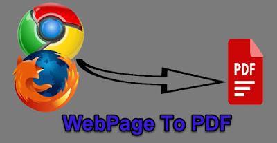 كيفية حفظ صفحة ويب كملف PDF في ويندوز 10