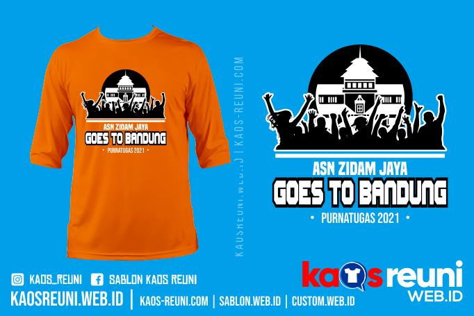 Asn Go To Bandung - Sablon Kaos Reuni Gathering Online