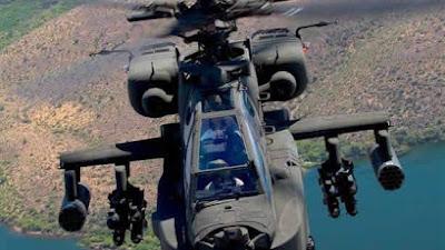 Tiga Helikopter AH-64E Apache Milik TNI AD Tiba di Indonesia