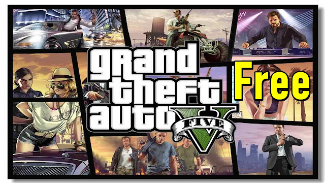 Get GTA 5 for free from Epic Games limited time offer - qasimtricks.com