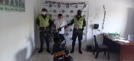 hoyennoticia.com, En Chimichagua aparece moto robada en Soledad Atlántico