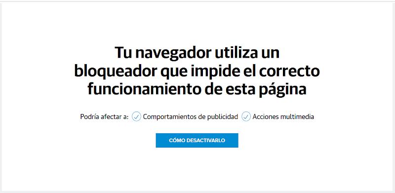 Quitar publicidad de LaVerdad.es - Saltar detector de bloqueador de anuncios - Adblock