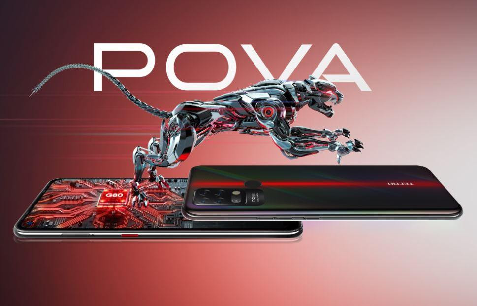 Harga dan Spesifikasi Tecno Pova RAM 6GB ROM 128GB dengan Baterai 6000mAh Terbaru di Indonesia