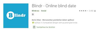 blindr aplikasi jodoh online