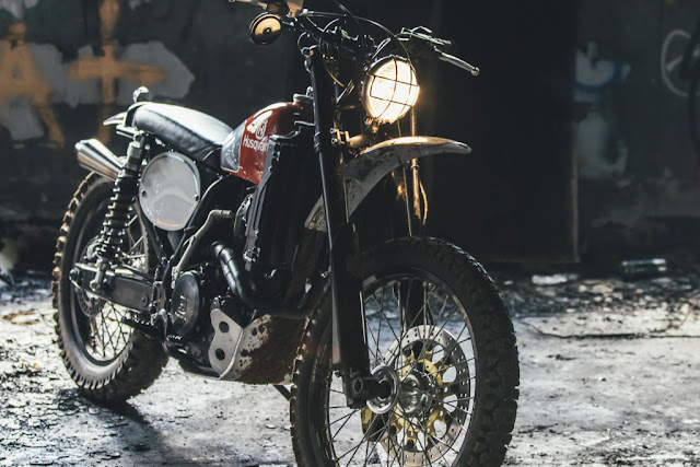Husqvarna SM 510R By Analog Motorcycles Hell Kustom