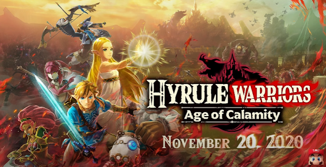 Hyrule Warriors: Age of Calamity - 100 years before BOTW