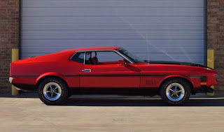 1971 Ford Mustang Mach 1 Drag Pack Side