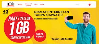 Paket Internet Unlimited cuma 30.000