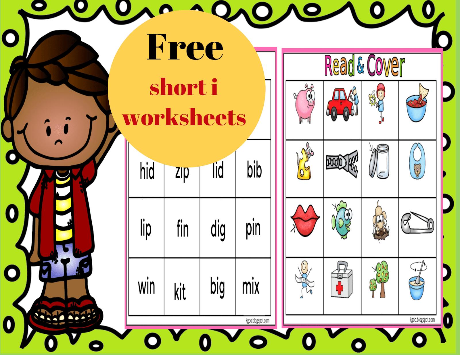 Short I Phonics Worksheets