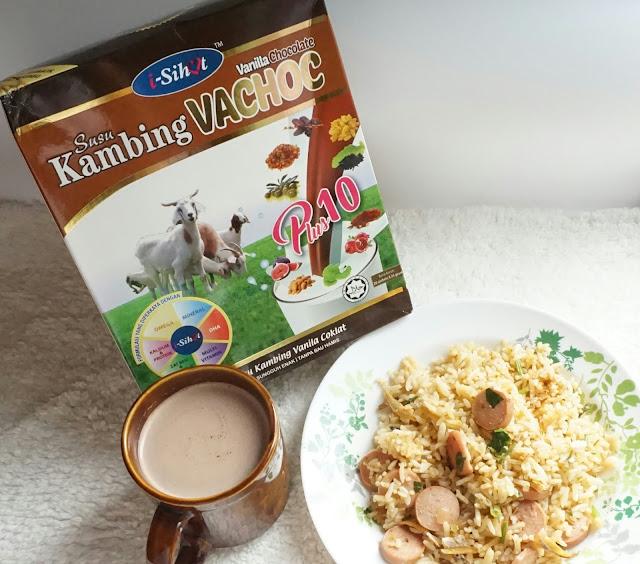 susu kambing isihat vachoc plus10