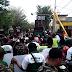 Rombongan Anggota Ansor,Banser Dan Fatayat NU Di Kediri Desak Polisi Merekontruksi Ulang Pembunuhan Anggota Fatayat