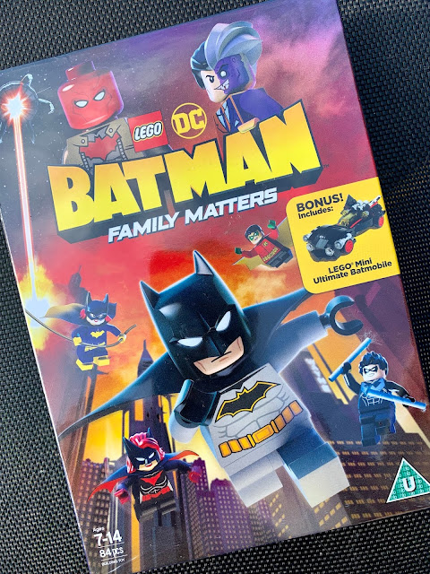 LEGO DC: Batman Family Matters DVD