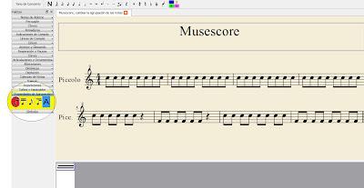 Aprender a escribir partituras con el editor Musescore ¿Cómo escribo una partitura? Correspondencia entre las notas con nomenclatura española e inglesa. Cómo cambiar la agrupación de las corcheas y de las notas con el Musescore. Cambiar la disposición de las figuras musicales Acceso directos del Musescore Tutorial de Muscescore